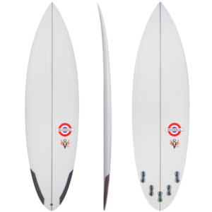 picture of Bessell Surfboards v8 special performance surfboard all angles