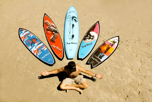 Surfboard Shapers_Tim Bessel_warhol boards_La Jolla_CA